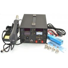 Mlink H7 3in1 Soldering station Hot Air Rework Station DC Power Supply + (10 soldering tips)