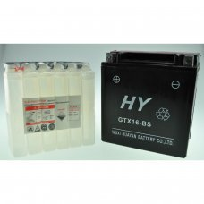 Motorcycle Battery YTX16-BS