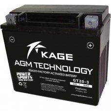 Motorcycle Battery AGM YTX20L-BS GEL (GT20-3)