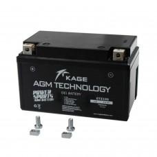 Bateria de GEL KAGE AGM YTZ10S/YT10B-4/GTZ10S 8,6AH (GTZ10S)