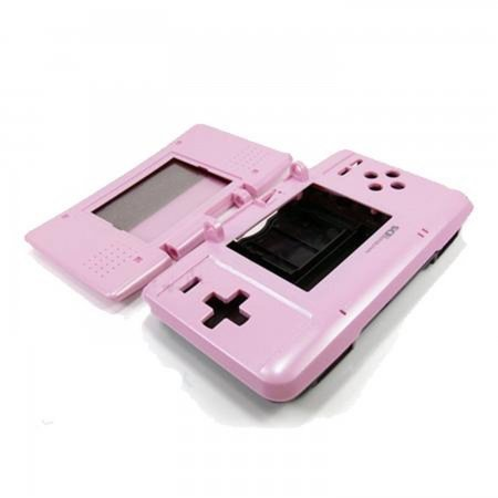Carcasa Recambio para Nintendo DS  (ROSA) REPARACION NDS  5.50 euro - satkit