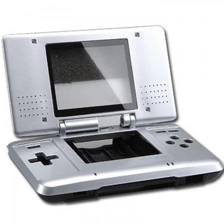 Carcasa Recambio para Nintendo DS  (Color plata) REPARACION NDS  5.50 euro - satkit