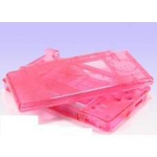 NDS Lite Console Shell (CLEAR PINK)