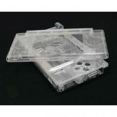 Carcasa Recambio para Nintendo DS Lite (TRANSPARENTE)