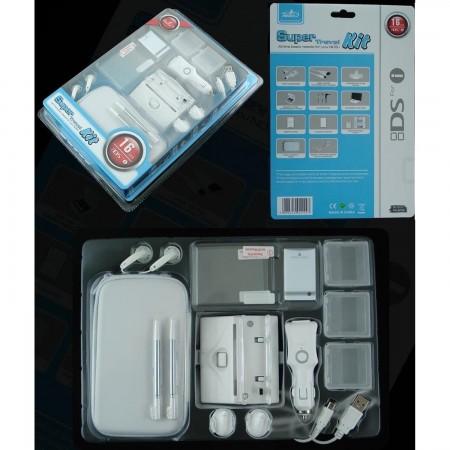 Pack acesorios  16 en 1 Travel  Kit Nintendo DSi ACCESORIOS DSI  4.00 euro - satkit