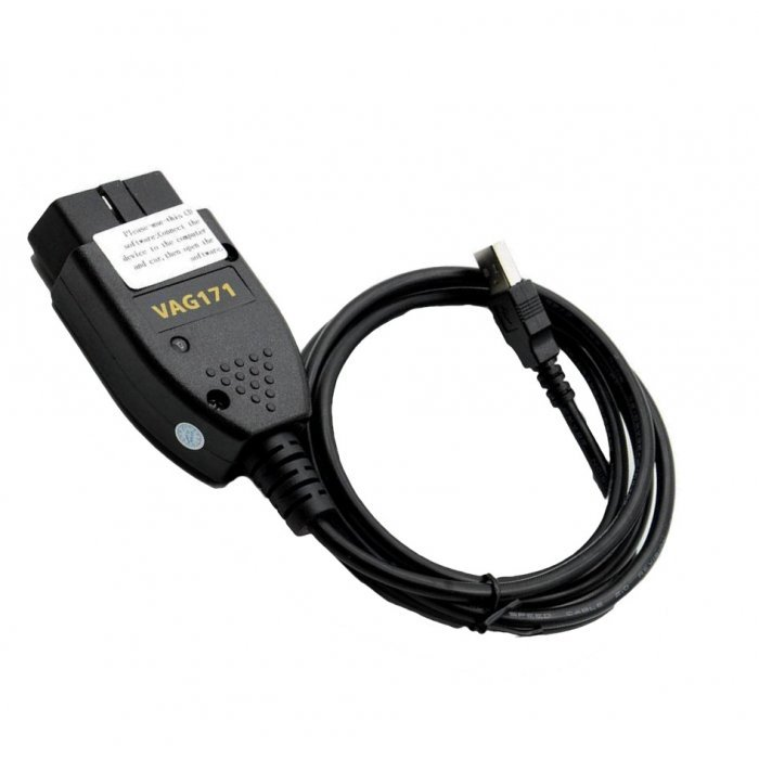 NEW Vag com 17 1 diagnostic cable USB InterfaceVW/Audi Vagcom