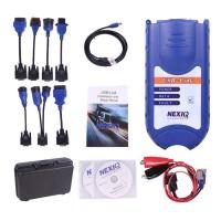 NEXIQ 125032 USB Link + Sistema de Diagnóstico Multimarca para Vehículos Pesados/Diesel.