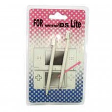Nintendo DS LITE Stylus Pen  Retractiles(2 punteros COLOR BLANCO)