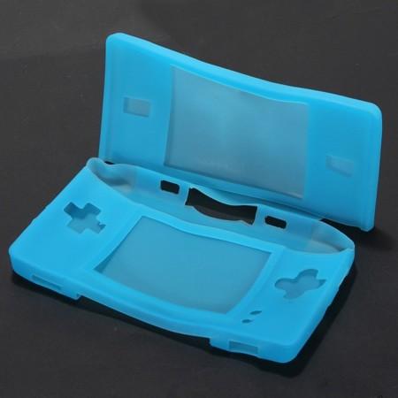 Funda potectora Silicona  para Nintendo DS lite AZUL FUNDAS Y PROTECTORES NDS LITE  1.00 euro - satkit