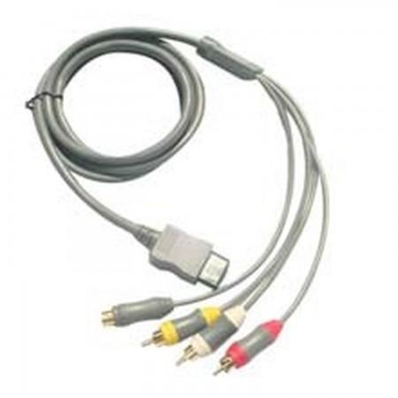 NINTENDO Wii S-Video AV Cable Equipos electrónicos  3.50 euro - satkit