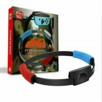 Fitness Ring for Nintendo Switch Joy-Con with Sport Strap for Ringfit Adventure Sensor Exercise
