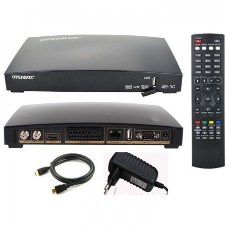 Receptor satelite hd OPENBOX V8S PLUS WIFI HD PVR  FULL HD + usb antena wifi TV SATELITE | DREAMBOX Openbox 44.00 euro - satkit