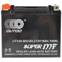 Bateria de GEL KAGE AGM YTX20-BS 20AH 12V 20Ah Harley Davidson 82001 CTX20-BS
