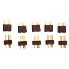 PACK 10 CONNECTORS T-DEAN (5 MALE + 5 FEMALE)