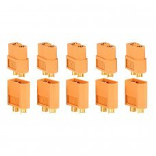 PACK 10 CONNECTORS XT60 (5 MALE + 5 FEMALE)