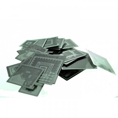 Pack 79 Stencils direct heating Stencils  20.00 euro - satkit