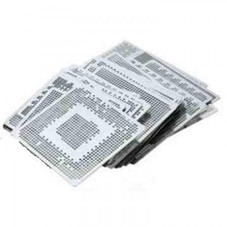 Pack consolas 15 Stencils direct heating Stencils  4.00 euro - satkit