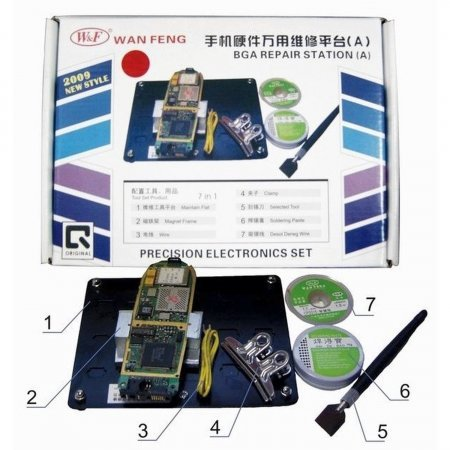 PCB Working platform model A ACCESORY AND SOLDER PRODUCTS  9.00 euro - satkit