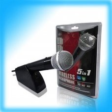 PEGA 5 in 1 wireless microphone PS2/PS3/XBOX 360 /WII/PC