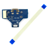 USB Charging Port Board JDS-001 for PS4 Playstation4 Controller Dualshock4 Flex Cable 14 Pin
