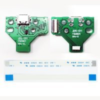 USB Charging Port Board JDS-011 for PS4 Playstation4 Controller Dualshock4 Flex Cable 12 Pin