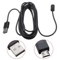 3 Metros  Largo Micro USB Cable De Carga para Mandos PS4 y Mandos Xbox One para cargar y JUGAR