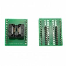 Programmer socket TSSOP20 to DIP20