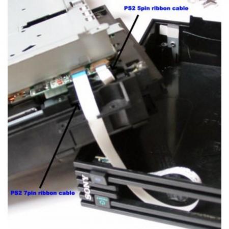 PS2 7pin Ribbon Cable (Eject/Reset) V4 a V8 RECAMBIOS PLAYSTATION 2  3.96 euro - satkit
