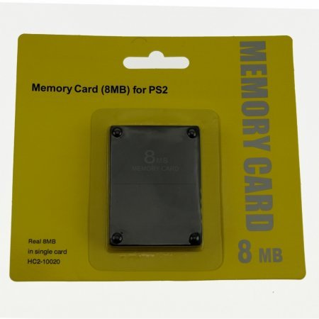 8MB Memory Card  para PS2 ACCESORIOS PSTWO  3.00 euro - satkit