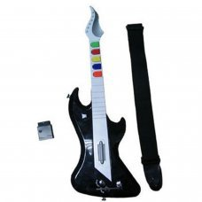 PS2 Wireless Electronic Guitar (compatible Guitar Hero  I, II y III)