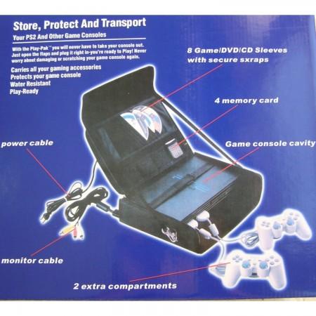 Maleta de transporte para Playstation 2 MANDOS Y ACCESORIOS PLAYSTATION 2  7.43 euro - satkit