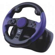 VOLANTE CARRERAS   PARA PLAYSTATION  PS2/PSTWO