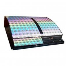 PS3 Console Skin Guard -Matrix Silver