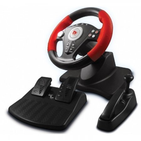 PS3/PS2/PC Racing  Wheel With Pedal ACCESORY PSTWO  22.99 euro - satkit