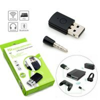 Wireless Bluetooth 4.0 USB Adapter Dongle Receiver for PS4 Headphone Microphone