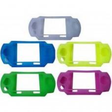 Funda Silicona Anti-shock para PSP color ROSA