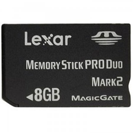 PSP Memory Stick Pro Duo 8GB Lexar *ORIGINAL* MEMORY STICK AND HD PSP 3000  15.00 euro - satkit
