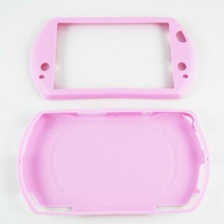 Funda Protector Silicona PSP GO Color ROSA ACCESORIOS PSP GO  0.80 euro - satkit