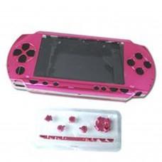 Carcasa completa de PSP color rosa (incluye botones)