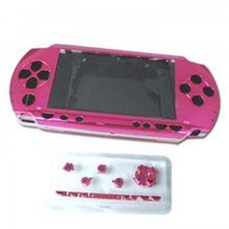 Carcasa completa de PSP color rosa (incluye botones) REPARACION PSP  9.00 euro - satkit