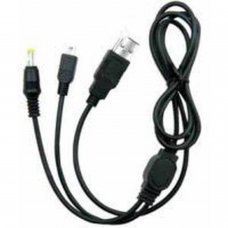 PSP/PSP2000/PSP3000 Recharge & Data Transfer 2 in 1  cable
