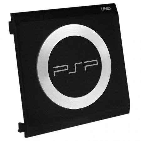 PSP puerta discos UMD con anillo metálico e inscripción REPARACION PSP  2.99 euro - satkit