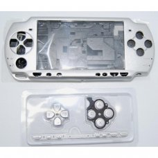 PSP2000/Slim Console Shell - SILVER