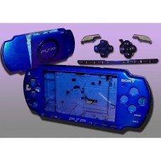 PSP2000/Slim Console Shell - ELECTRIC BLUE