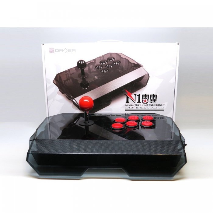 CONTROLERS & ACCESSORIES : Buy QANBA N1 BLACK PS3/PC