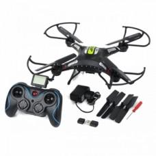 QUADCOPTER DRONE JJRC H8C 2.4GHz 4CH 6Axis Gyro RC CON CAMARA HD