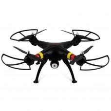 Negro - QUADCOPTER DRONE SYMA X8W FPV Explorers 2.4GHz 4CH 6Axis Gyro RC CON CAMARA HD Y WIFI