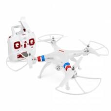 BLANCO - QUADCOPTER DRONE SYMA X8W FPV Explorers 2.4GHz 4CH 6Axis Gyro RC CON CAMARA HD Y WIFI