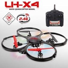 Quadcoptero LH-X4 2,4ghz 4 channels, 6-axis gyroscope 32,5cm x 32,5cm size x 6,5cm
