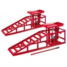Heavy Duty Hydraulic Car Lift Ramp 2 Ton x 2 Units